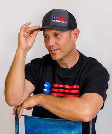 1b12689e Adjustable Trucker Hat | Bullets Both Ways | Colorado | USA
