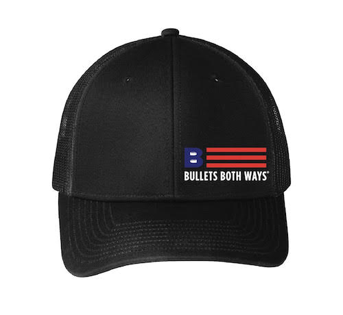 d11268a348b8b Bullets Both Ways Trucker Hat Black  Bullets Both Ways Trucker Hat Royal  Bullets  Both Ways charcoal trucker hat ...